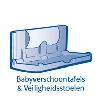 Baby verschoontafels en luierboxen
