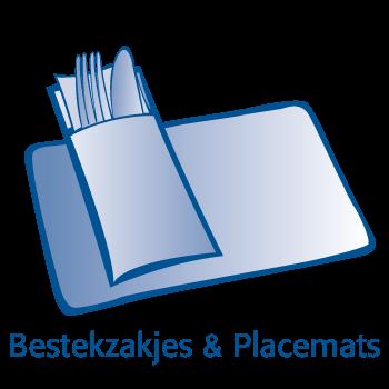 Servetten, bestekzakjes & placemats