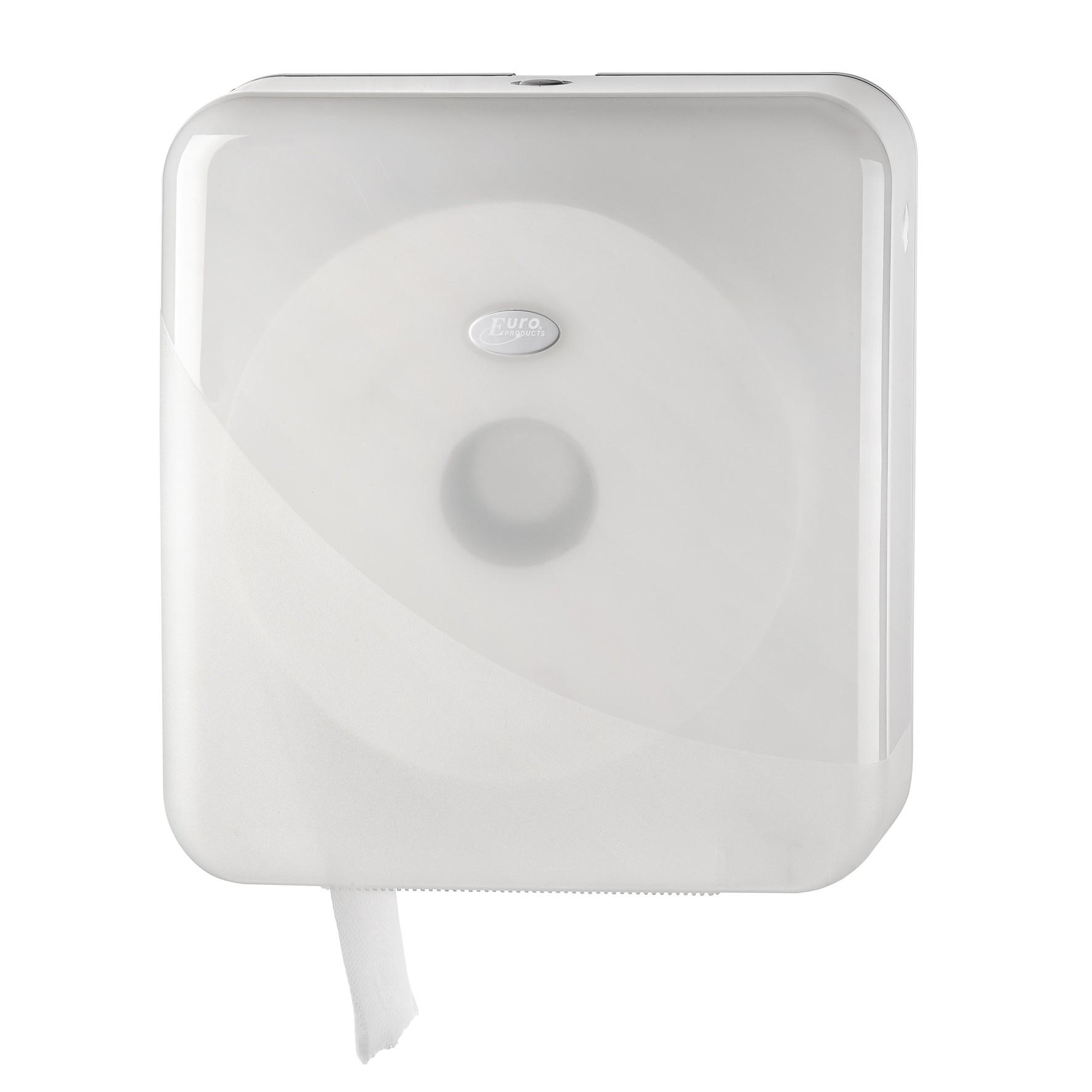 Pearl WHITE maxi jumbo toiletrol houder