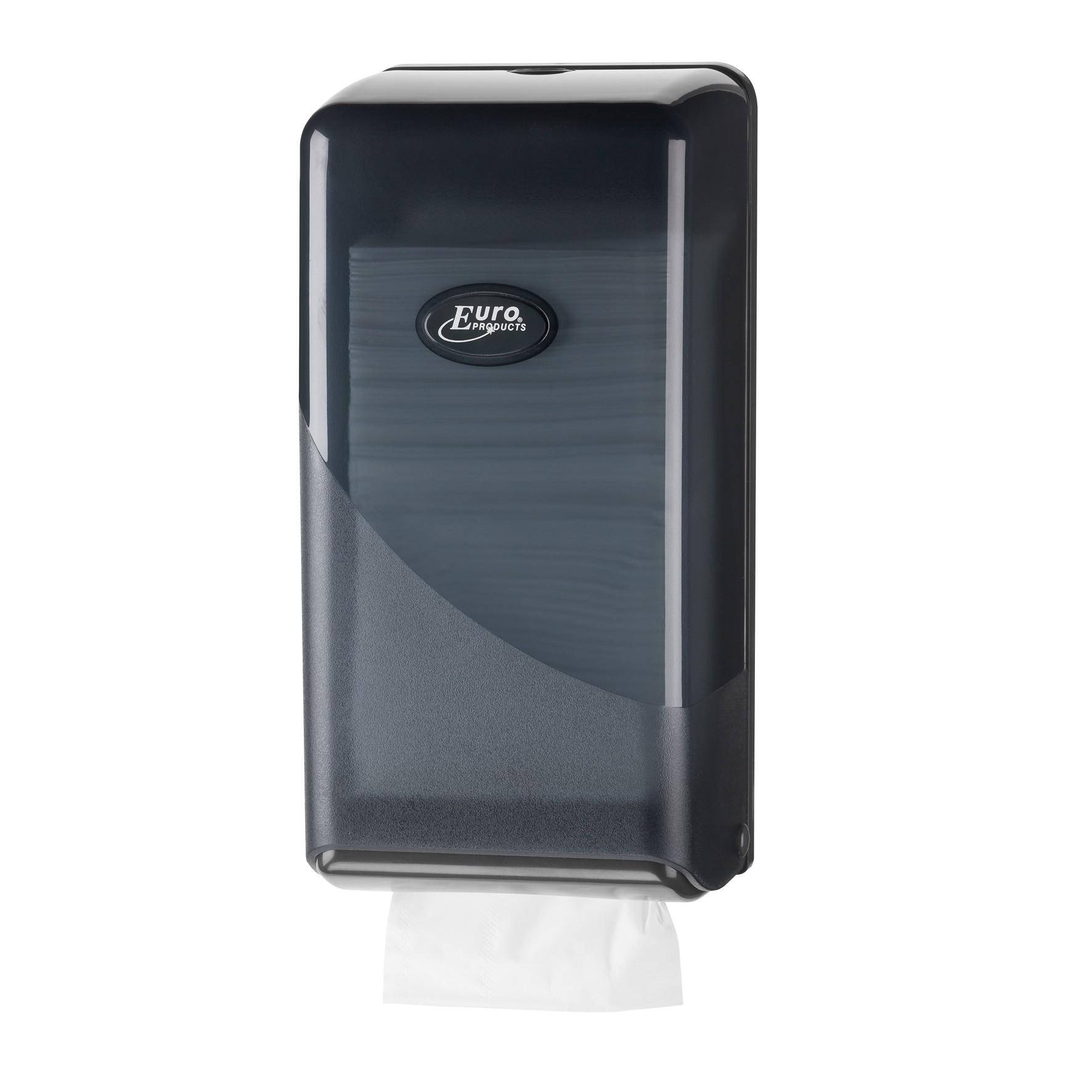 Pearl Bulk Pack toilet dispenser, kleur: zwart