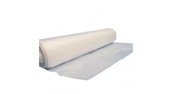 Afvalzak TRANSPARANT; 65/25 x 140 cm  inhoud 350 liter, doos à 100 st.