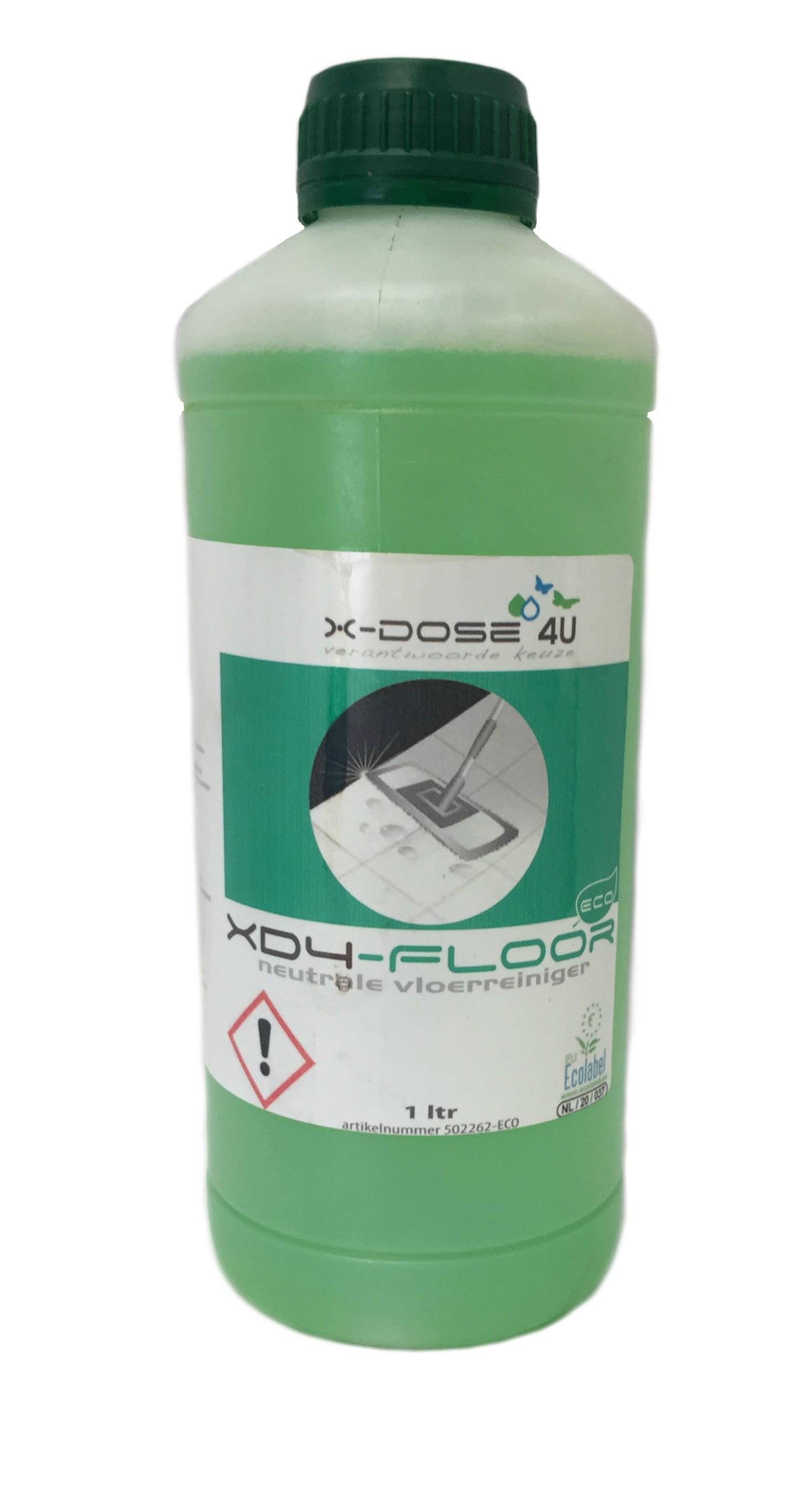 Pro-Floor N neutrale vloerreiniger tbv XD-4 doseersysteem 1 liter ECO