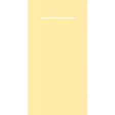 Pocket napkins v.v. airliad servet. 40 x 40 cm. Kleur: Creme, inhoud verpakking 600 stuks
