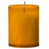 Bolsius refills 24 h. kleur: Amber, inhoud verpakking 80 st.