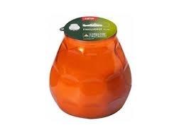 Bolsius terras verlichting type Twilight, kleur Oranje, inhoud verpakking 12 st.