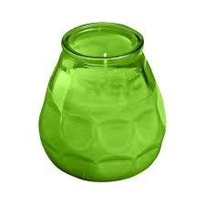 Bolsius terras verlichting type Twilight, kleur Lime Groen, inhoud verpakking 12 st.