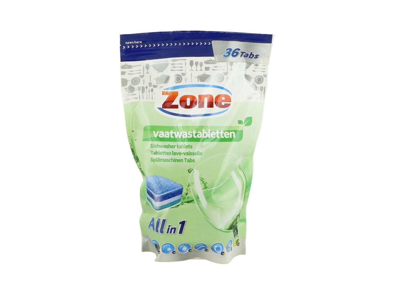 Zone vaatwastabletten all in 1; 100 tabs multi voordeel verpakking