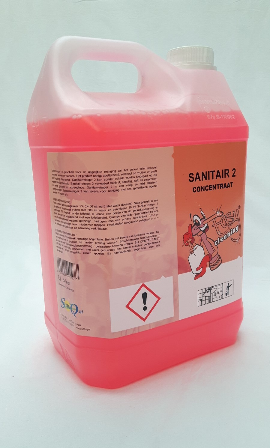 Easy Cleaning Nr. 2 Sanitair reiniger concentraat, 5 liter