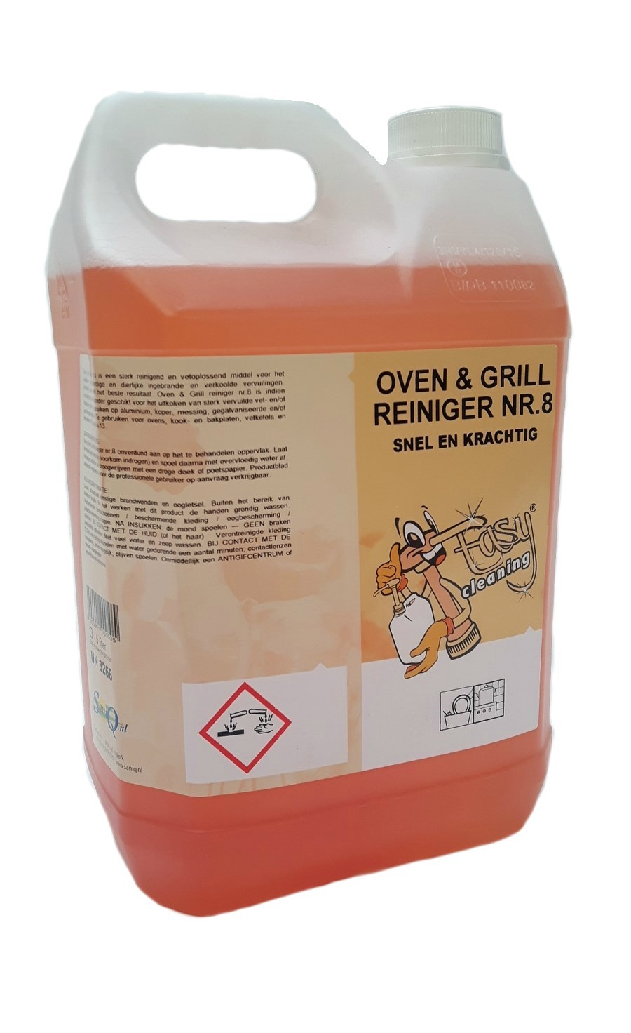 Easy Cleaning nr. 8 Oven & grill TO GO 5 liter