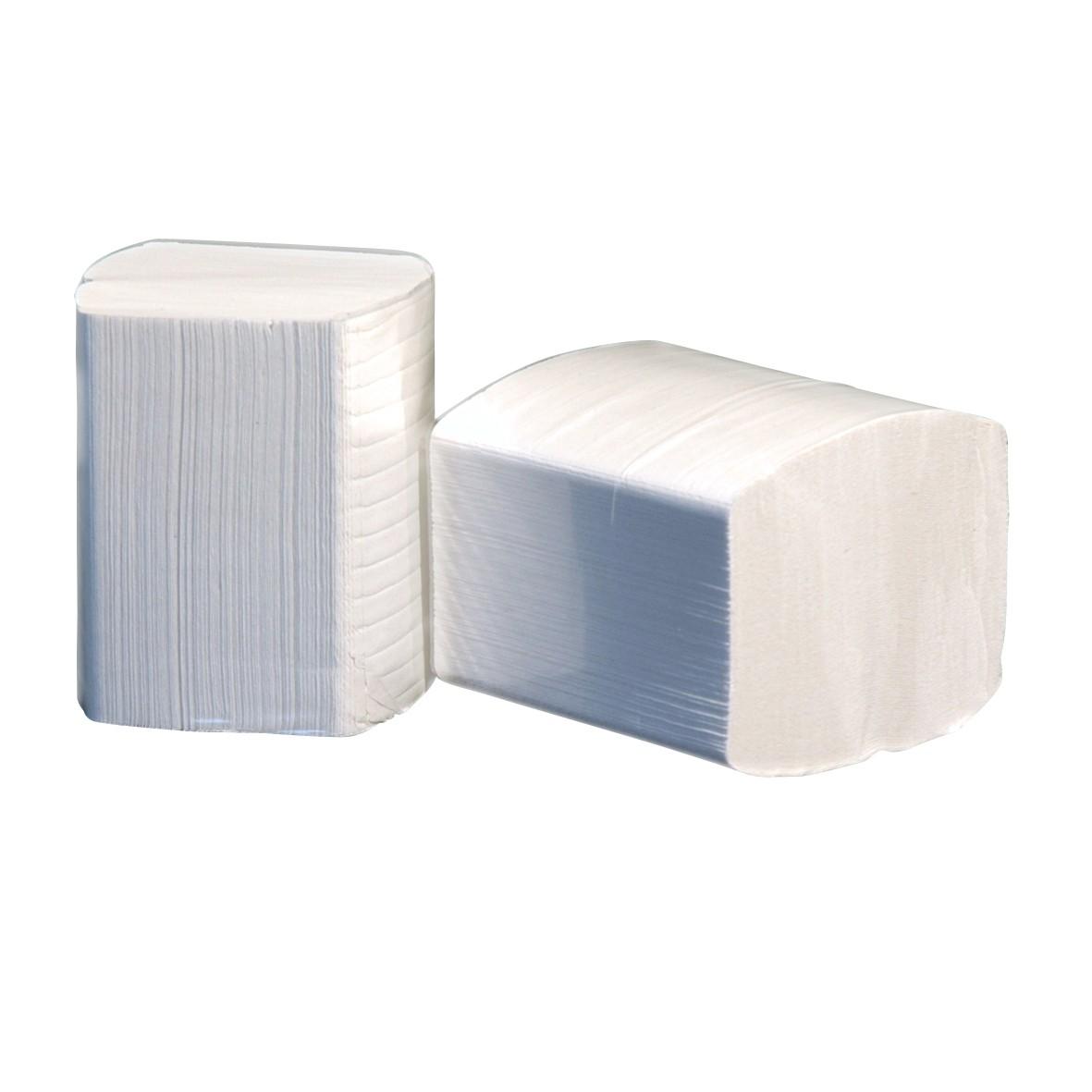 Bulkpack toiletpapier 2-laags, losse vellen, inhoud 36 x 250 vel ECO