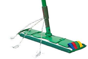 Greenspeed sprenkler set 1,45 m. compleet met 1 vlakmopplaat 40 cm en 1 twistmop 45 cm.