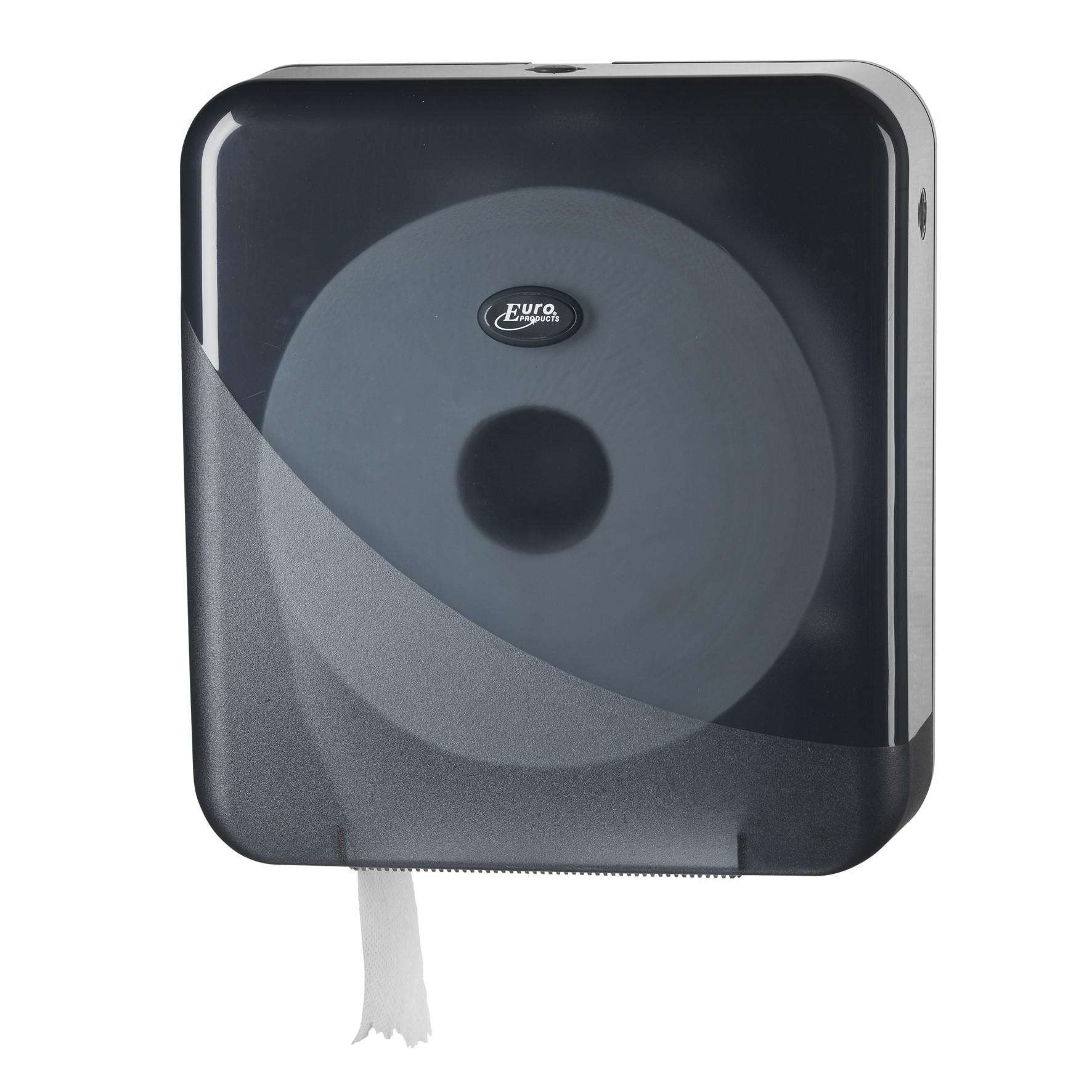 Pearl BLACK maxi jumbo toiletrol houder