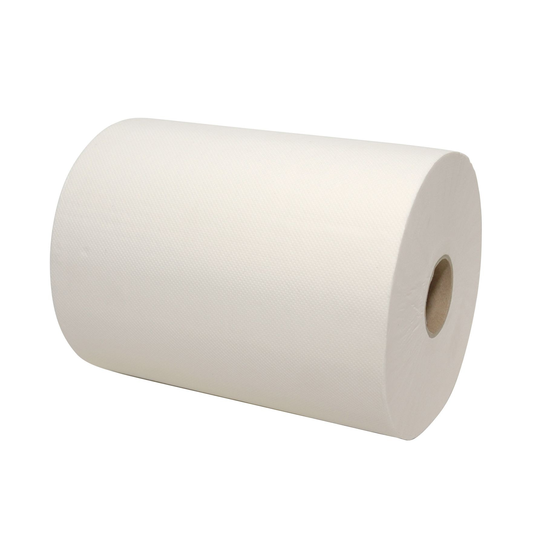 Handdoekrol minimatic 165 meter x 18,3 cm 2-laags wit, inhoud 6 rollen