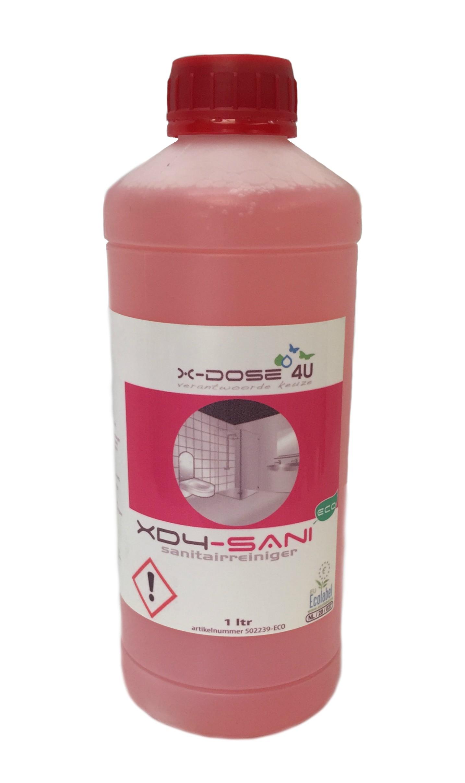 Pro-Sanitairreiniger tbv XD-4 doseersysteem 1 liter ECO