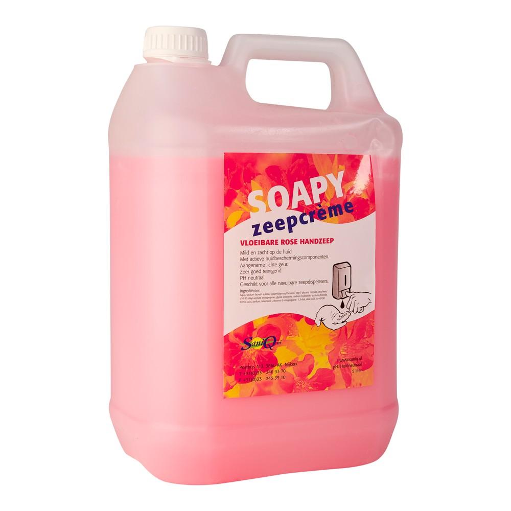Soapy rose handzeep 5 liter