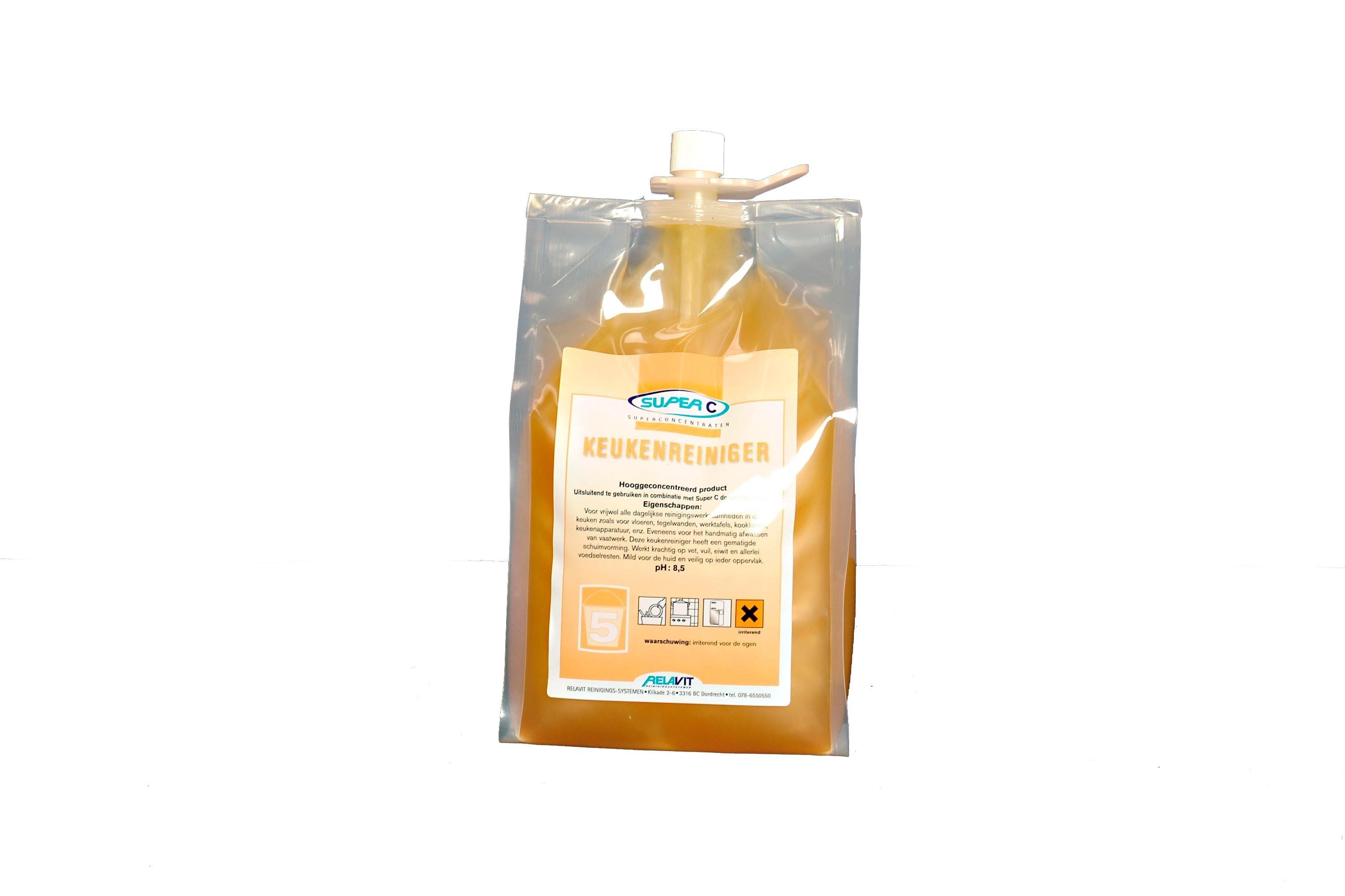 Easy C nr. 5 Keukenreiniger, hoog geconcentreerd, inhoud 1800 ml