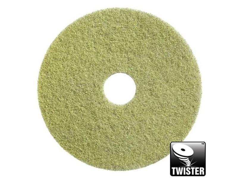 """Twisterpad GEEL 20"""",  2e stap in de Twister-methode,  inhoud 2 stuks"""