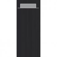 Bestekzakjes uni classic zwart/grijs; inhoud verpakking 600 stuks