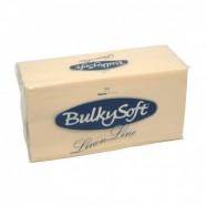 Servetten Airlaid Bulkysoft crème; afm. 40 x 40 cm,  1/8 vouw, inhoud verpakking 500 stuks