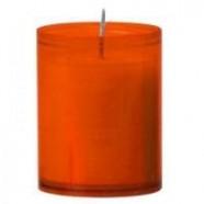 Bolsius refills 24 h. kleur; Oranje, inhoud verpakking 80 st.
