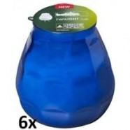 Bolsius terras verlichting type Twilight, kleur Blauw, inhoud verpakking 12 st.