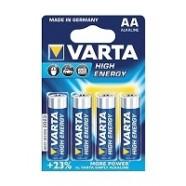 Varta Industrial LR6 alkaline batterij type AA penlight, 4 stuks