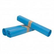 Afvalzak 60 mu 80x110 cm blauw