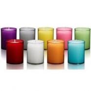 Bolsius refills 24 h., verkrijgbaar in diverse kleuren, inhoud verpakking 80 stuks