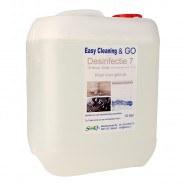 Easy Cleaning nr. 7 Desinfectie TO GO, 10 liter