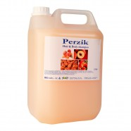 Perzik hair en body shampoo 5 liter