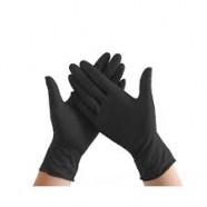 Nitril handschoenen ongepoederd zwart M
