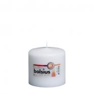 Bolsius stompkaars  WIT 100 x 100 mm, verpakking a 8 st.